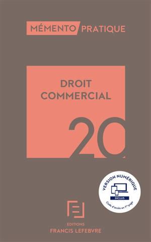 Droit commercial : 2020