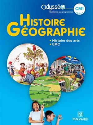 Histoire géographie, histoire des arts, EMC : CM1, cycle 3