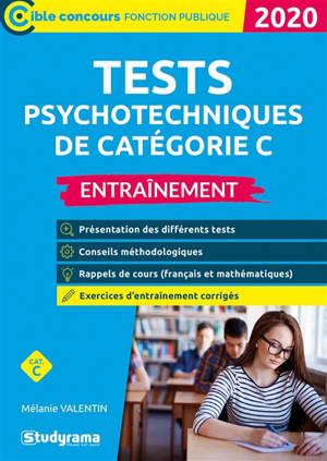 Tests psychotechniques de catégorie C : entraînement : 2020
