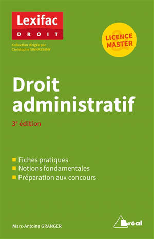 Droit administratif : licence & master