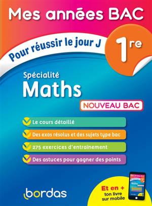 Maths 1re : nouveau bac
