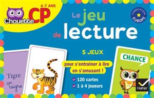 Le jeu de lecture : CP, 6-7 ans : 5 jeux
