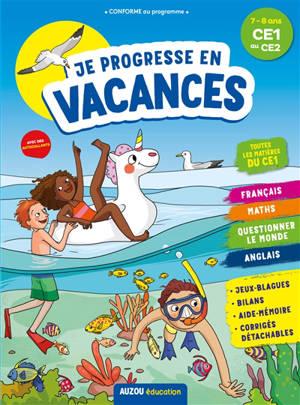 Je révise en vacances : 7-8 ans, du CE1 au CE2