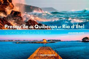 Presqu'île de Quiberon et ria d'Etel : du grand large à la petite mer
