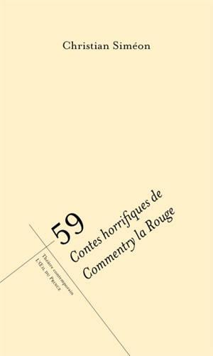 59 : contes horrifiques de Commentry la Rouge