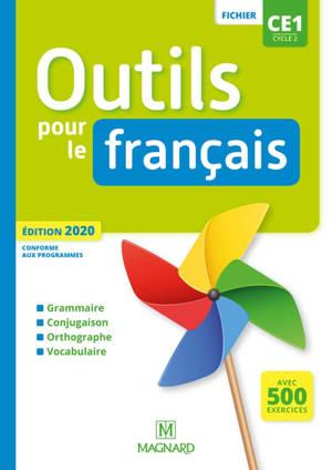 Outils pour le français CE1, cycle 2 : fichier