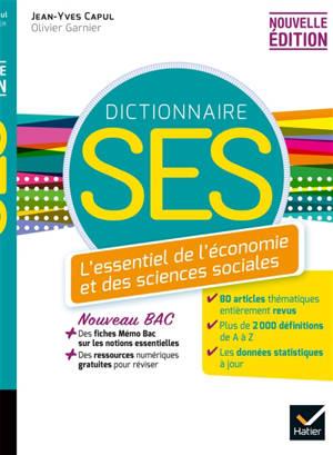 Dico SES : l'essentiel de l'économie et des sciences sociales
