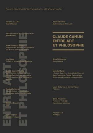 Claude Cahun entre art et philosophie