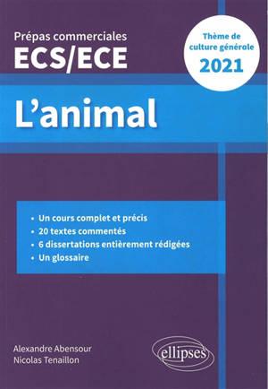 Nouveau thème : épreuve de culture générale : prépas commerciales ECS-ECE 2021
