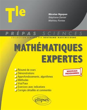 Mathématiques expertes terminale : nouveaux programmes