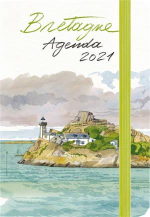 Bretagne : agenda 2021 : petit format