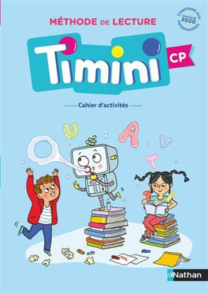 Méthode de lecture Timini CP : cahier d'activités