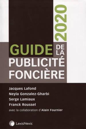 Guide de la publicité foncière : 2020