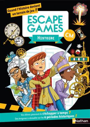 Escape games histoire CM