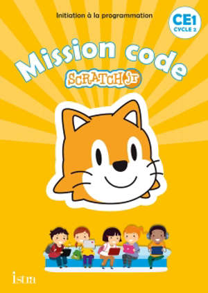 Mission code Scratch Jr, CE1, cycle 2