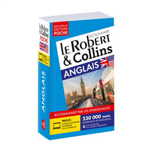 Le Robert & Collins poche anglais : dictionnaire français-anglais, French-English dictionary
