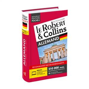 Le Robert & Collins allemand poche + : français-allemand, allemand-français