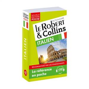 Le Robert & Collins poche italien : français-italien, italien-français