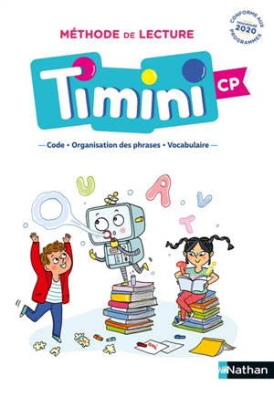 Méthode de lecture Timini CP : manuel de code