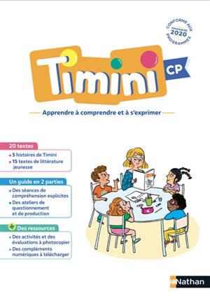 Méthode de lecture Timini CP : guide et ressources pour la compréhension