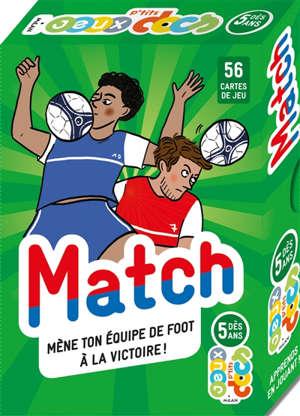 Match : mène ton équipe de foot à la victoire !