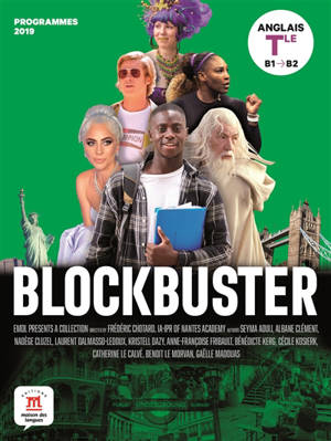 Blockbuster, anglais terminale, B1-B2 : programmes 2019