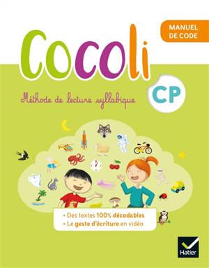Cocoli CP, méthode de lecture syllabique : manuel de code