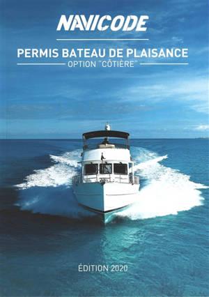 Navicode : permis bateau de plaisance option côtière