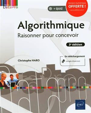 Algorithmique : raisonner pour concevoir