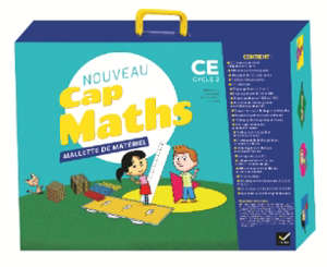 Nouveau Cap maths, CE, cycle 2 : mallette de matériel
