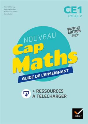 Nouveau Cap maths, CE1, cycle 2 : guide de l'enseignant : 2020