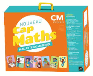 Nouveau Cap maths, CM, cycle 3 : mallette de matériel