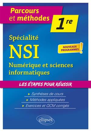 Spécialité NSI, numérique et sciences informatiques première : nouveaux programmes