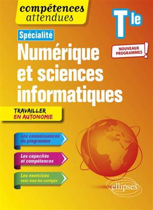 Spécialité numérique et sciences informatiques terminale : nouveaux programmes