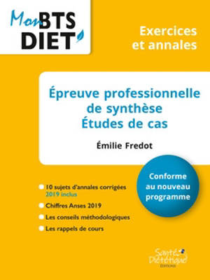 Epreuve professionnelle de synthèse : études de cas : conforme au nouveau programme