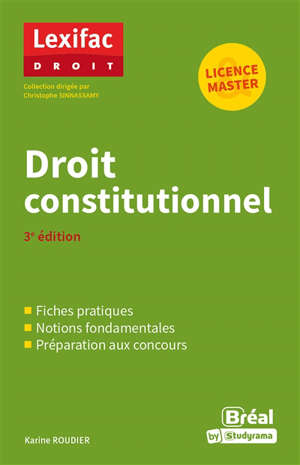 Droit constitutionnel : licence, master
