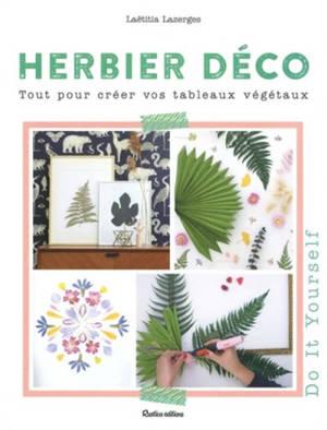 Herbier déco : tout pour créer vos tableaux végétaux