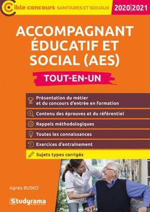 Accompagnant éducatif et social (AES) : tout-en-un, 2020-2021