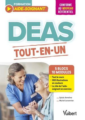 DEAS : tout-en-un, 5 blocs, 10 modules : conforme au nouveau référentiel