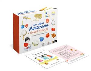 Mon coffret Montessori d'éveil musical