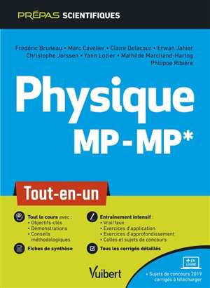 Physique chimie MP-MP* : tout-en-un