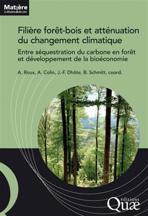 Filière forêt-bois française et atténuation du changement climatique : entre séquestration du carbone en forêt et développement de la bioéconomie