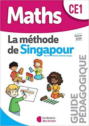Maths, la méthode de Singapour, CE1 : guide pédagogique