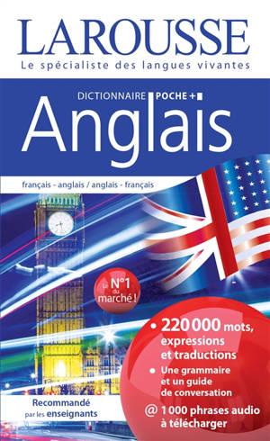 Anglais : dictionnaire de poche plus : français-anglais, anglais-français