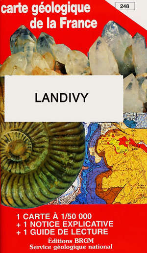 Landivy : carte géologique de la France à 1/50 000, 248