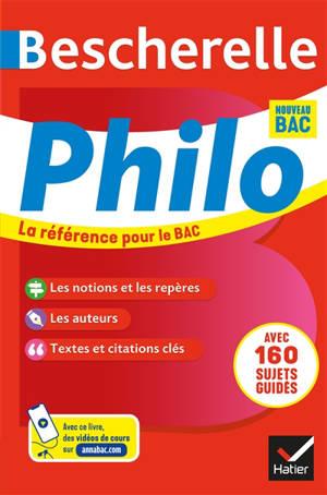 Bescherelle philo : nouveau bac 2020-2021