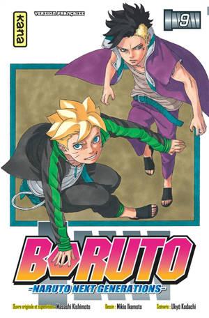 Boruto : Naruto next generations. Volume 9