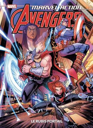 Marvel action Avengers, Le rubis portail