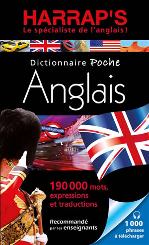 Harrap's dictionnaire poche anglais : anglais-français, français-anglais