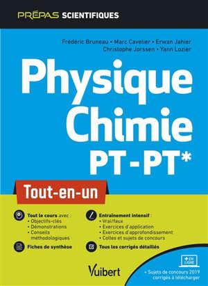 Physique chimie PT-PT* : tout-en-un